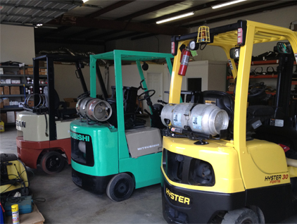 New Forklifts, Used Forklifts, Forklift Rentals, Forklift Parts, Forklift Service & Repair at Forklift Partners LLC in Charlotte NC